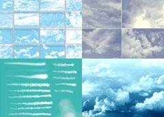 Кисти облака для Фотошопа